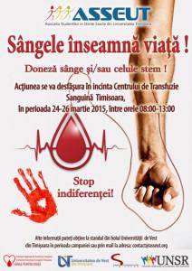 foto campanie donare sange